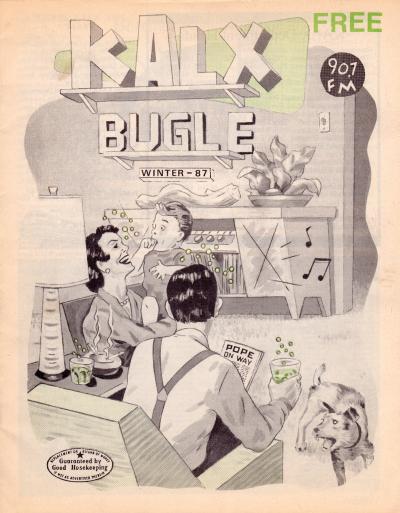 KALX Program Guide Cover Winter 1987