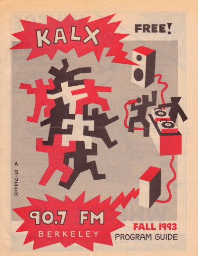KALX Program Guide Fall 1993