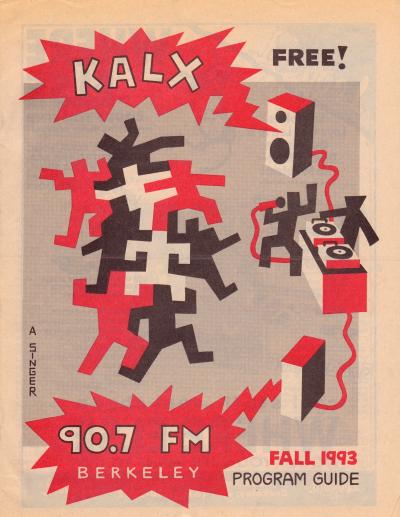 KALX Program Guide Fall 1993