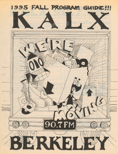 KALX Program Guide Cover Fall 1995
