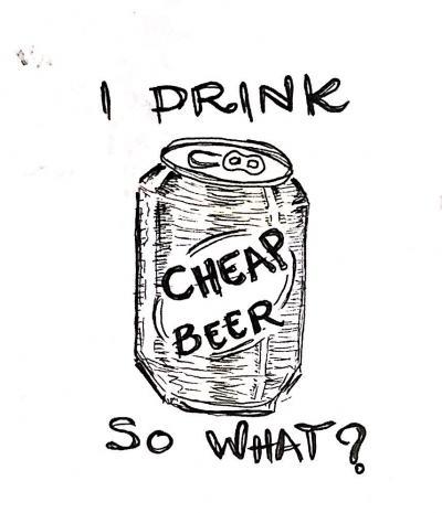 Cheap Beer Sketch