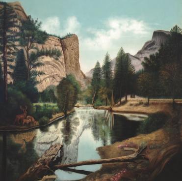 Image credit: Emma Michalitschke: Yosemite Landscape, 1913; oil on canvas