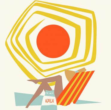 KALX summer graphic