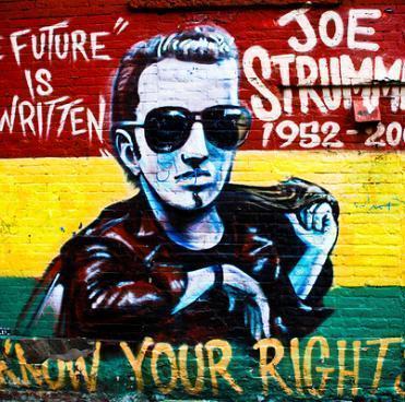 Joe Strummer mural