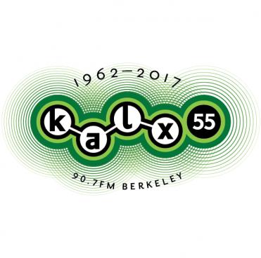 KALX 55th Anniversary logo