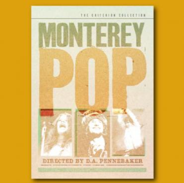 """Monterey Pop"" flyer"