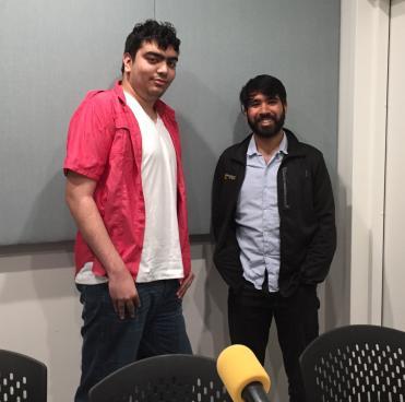 Photo of Nadir Akhtar and Ashwinee Panda