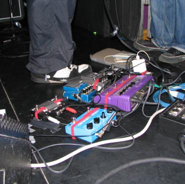 Some more effects pedals used by Ichirou Agata of Melt-Banana by Louis Waweru