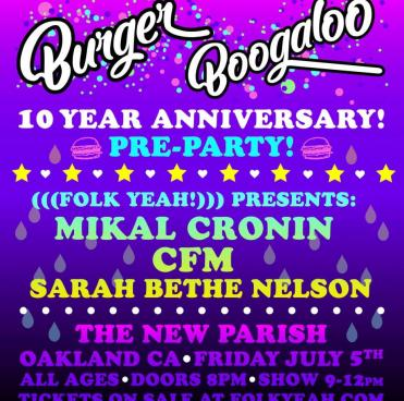 Burger Boogaloo Pre Party