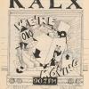 KALX Program Guide Cover Fall 1995