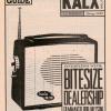 KALX Program Guide Cover Spring 1999