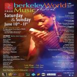Berkeley World Music Festival poster