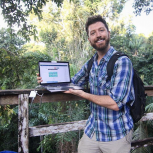 Aaron Pomerantz sequencing DNA in the rain forest