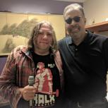 Photo of Jon the Reptilian and Stanley Clarke