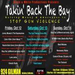Takin' Back the Bay flyer