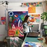 Olivia Krause in Studio