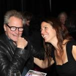 Sam Shepard and Loretta Greco at An Evening with Sam Shepard at Magic Theatre, February 11, 2013. Photo by Jennifer Reiley.