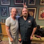 Adrian Belew & Jon the Reptilian