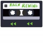 KALX Rewind logo